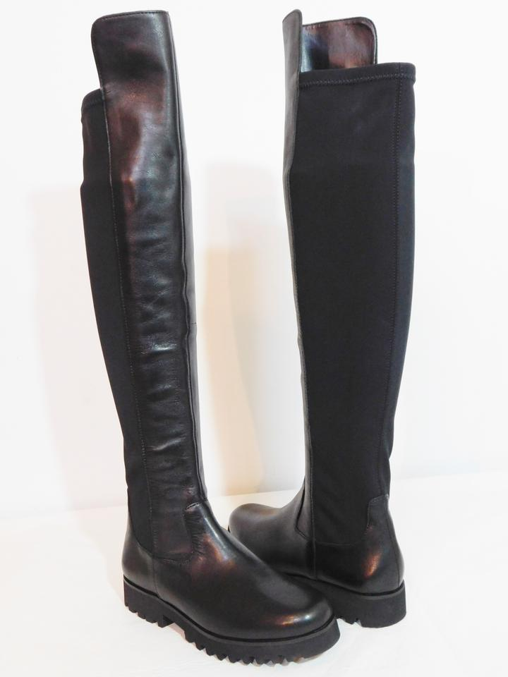 Boots Over Black Leather Knee Booties Ronda Pliner Donald New J The EpwcqgUYzx