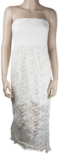 White Maxi Dress by Dainty Hooligan Lace Long Maxi