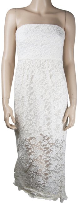 Preload https://img-static.tradesy.com/item/23705661/dainty-hooligan-white-lace-full-gown-long-casual-maxi-dress-size-6-s-0-1-650-650.jpg