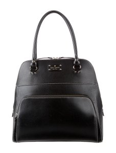 Kate Spade Leather Classic Investment Piece Tote in Black