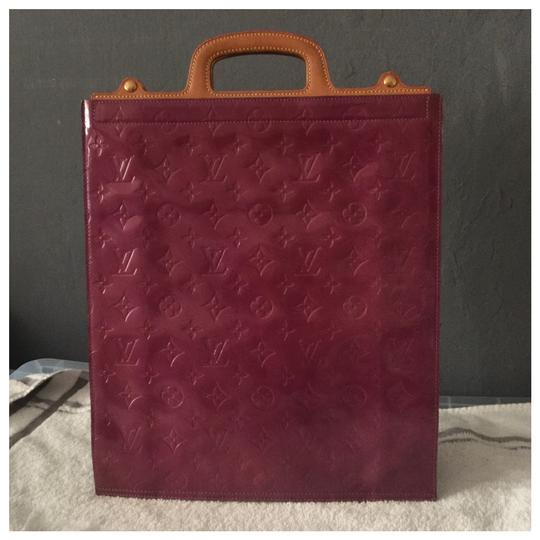 Louis Vuitton Tote in Purple Image 0