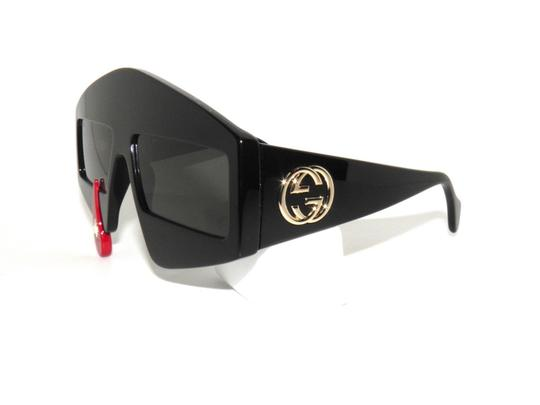 Gucci GUCCI GG0359S 0359S 001 BLACK-RED TEARDROP LIMITED EDITION Image 4