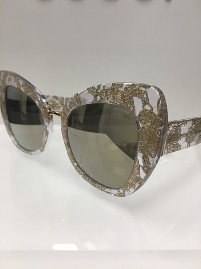 Preload https://img-static.tradesy.com/item/23705938/dolce-and-gabbana-gold-lace-31535a-dolce-and-gabbana-women-s-d-and-g-dg4319-31535a-fashion-cat-eye-s-0-0-540-540.jpg