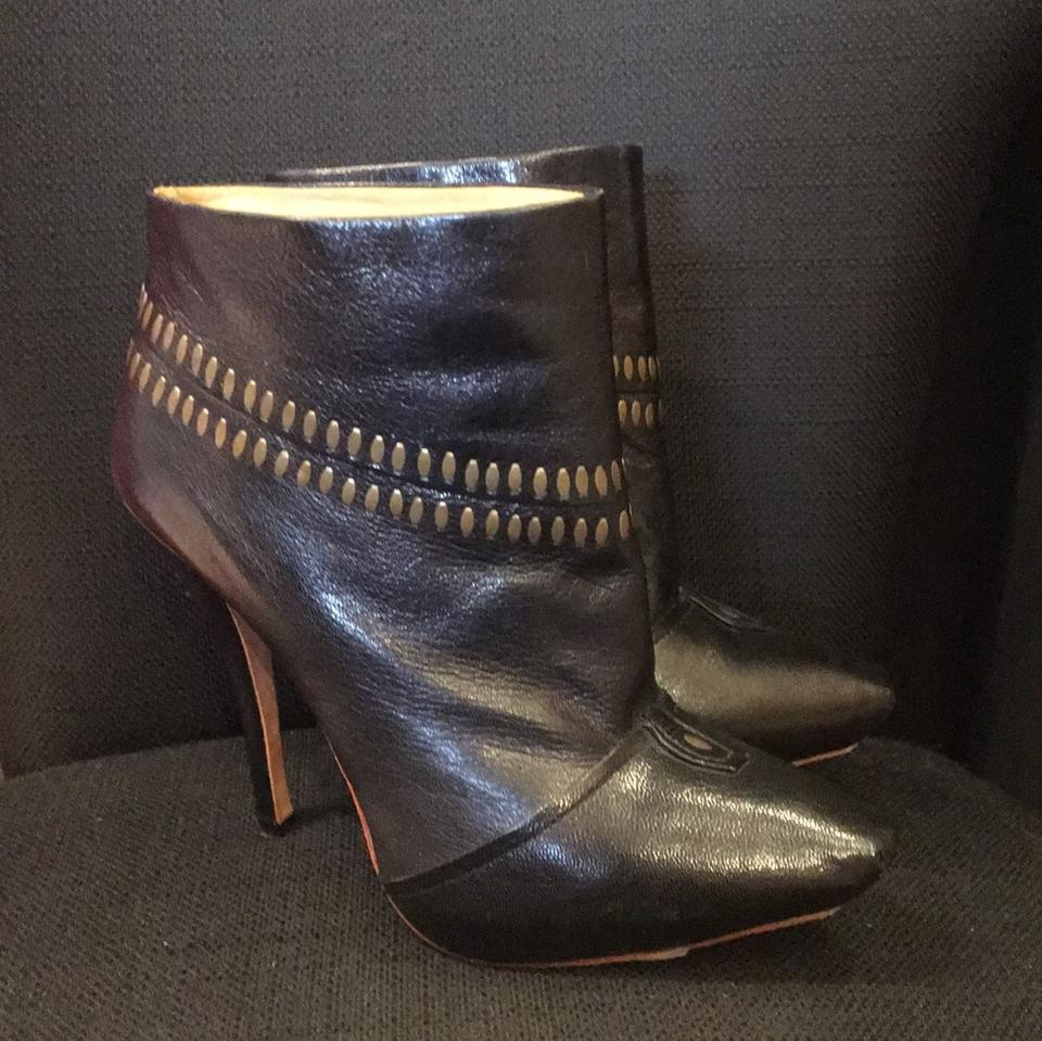 Women's L.A.M.B. Black Leather selling Boots/Booties selling Leather price a27d70