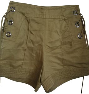 Marissa Webb Cuffed Shorts Army green