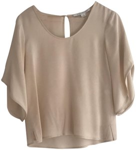 Diane von Furstenberg Top cream