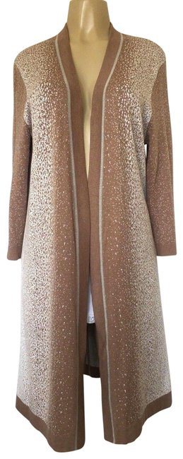 Preload https://img-static.tradesy.com/item/23706200/magaschoni-beige-sweater-long-sleeve-open-front-cashmere-l-cream-tan-cardigan-size-12-l-0-1-650-650.jpg