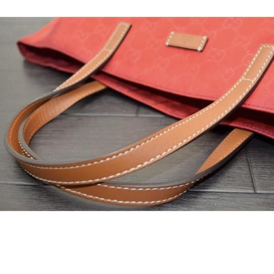 Gucci Tote in Red Image 2