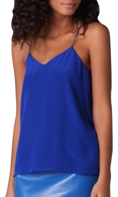Tibi Neiman Marcus Saks Bergdorf Goodman Barneys New York Top Blue Image 0