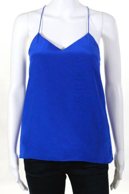 Tibi Neiman Marcus Saks Bergdorf Goodman Barneys New York Top Blue Image 3