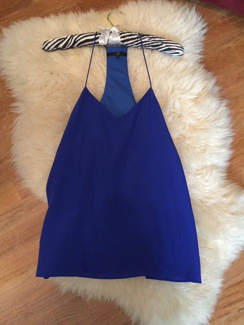Tibi Neiman Marcus Saks Bergdorf Goodman Barneys New York Top Blue Image 5