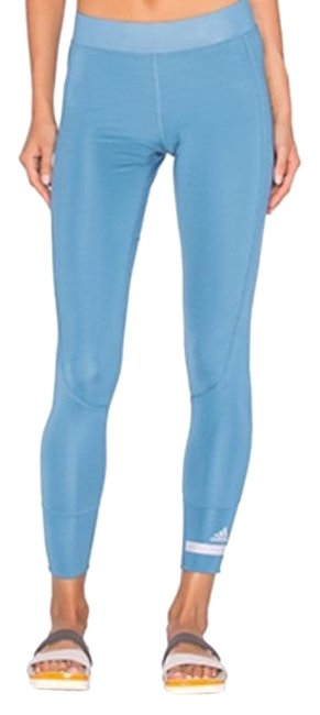 Item - Blue Women's Cropped Performance Activewear Bottoms Size 2 (XS, 26)