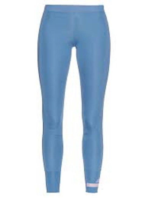 adidas By Stella McCartney Women's Blue Cropped Performance Leggings Image 1