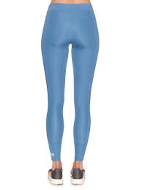 adidas By Stella McCartney Women's Blue Cropped Performance Leggings Image 2