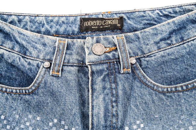 Roberto Cavalli Boot Cut Jeans-Medium Wash Image 5