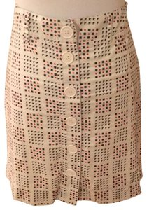 Ben Sherman Cotton Machine Washable Mini Skirt Red, white, blue