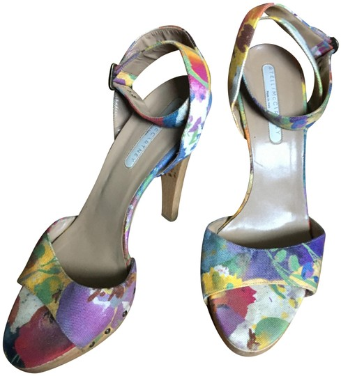 Stella McCartney Canvas Multicolored Sandals Image 0