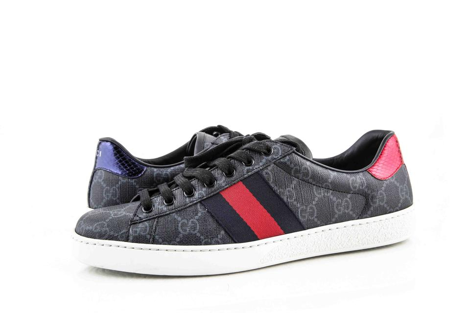 Gucci * Black/Red/Blue Ace Gg Supreme Sneaker Black/Red/Blue Shoes 3% off  retail