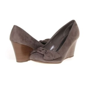 Brash Suede Brown Wedges