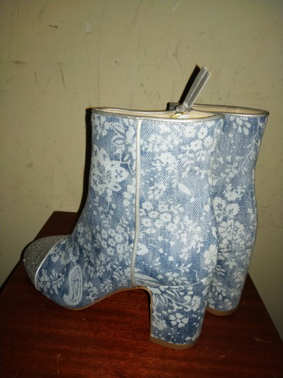 Polly Plume Blue silver Boots Image 2