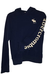 Abercrombie & Fitch Kids Navy Hoodie Winter Sweater
