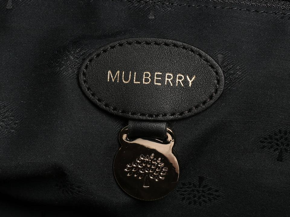ccb9f11624b7 Mulberry Maisie Clipper Black Smooth Touch Leather Satchel - Tradesy