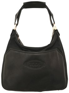 Tod's Purse Handbag Hobo Leather Tote Shoulder Bag