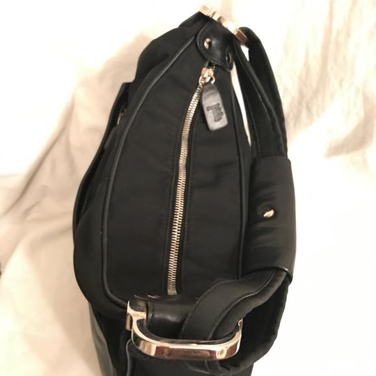 Tod's Purse Handbag Hobo Leather Tote Shoulder Bag Image 3