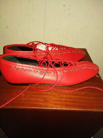 paco rabanne Red Flats Image 1