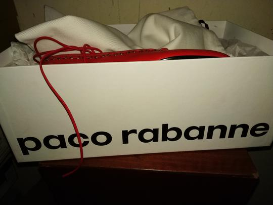 paco rabanne Red Flats Image 7