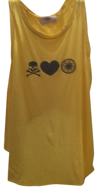 Preload https://img-static.tradesy.com/item/23706946/soulcycle-yellow-banana-open-back-activewear-top-size-4-s-0-1-650-650.jpg