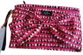 Kate Spade Pouch Purpose Novelty Wristlet in Multi Canvas Image 0