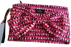 Kate Spade Pouch Purpose Novelty Wristlet in Multi Canvas