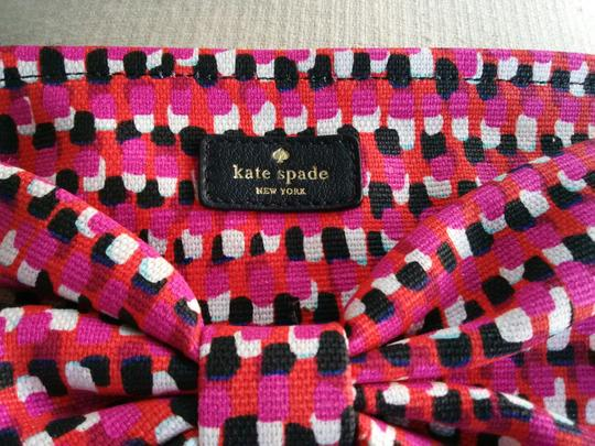 Kate Spade Pouch Purpose Novelty Wristlet in Multi Canvas Image 1