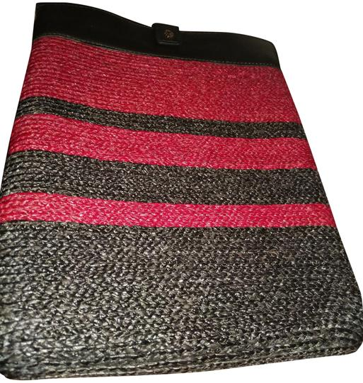 Preload https://img-static.tradesy.com/item/23707048/helen-kaminski-maroon-black-made-in-australia-leather-woven-tablet-sleeve-tech-accessory-0-1-540-540.jpg