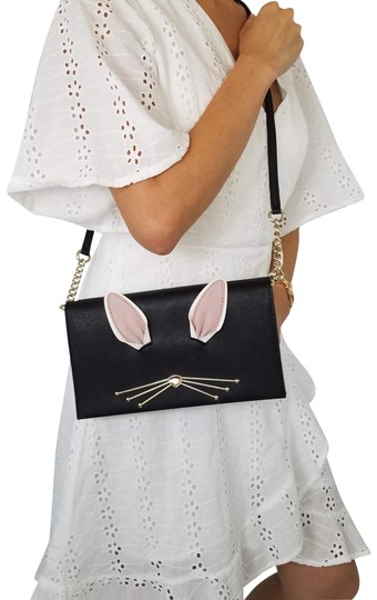 Preload https://img-static.tradesy.com/item/23707054/kate-spade-new-york-rabbit-hop-to-it-bunny-clutch-black-cross-body-bag-0-1-540-540.jpg