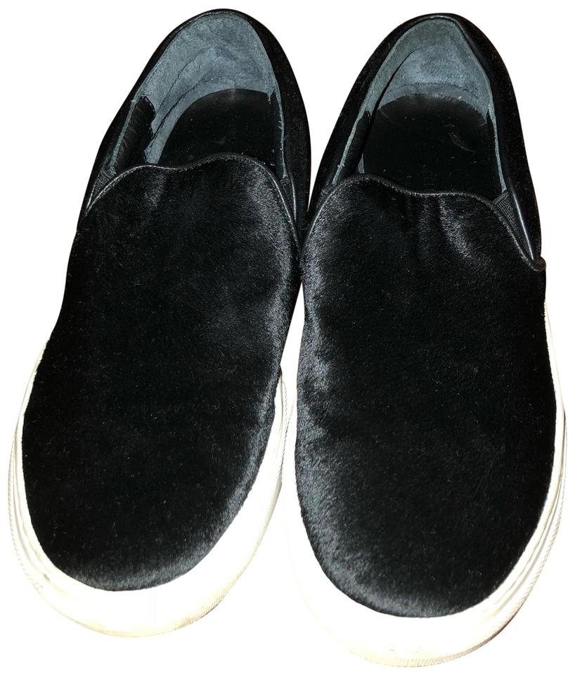 d29695a13c0 Céline Black Pony Hair Slip On Flats Size US 7 Regular (M