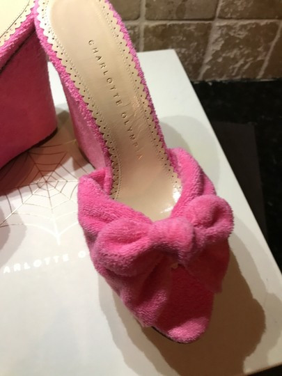 Charlotte Olympia Pinky Pink Wedges Image 5