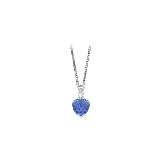 Preload https://img-static.tradesy.com/item/23707217/blue-heart-shaped-created-tanzanite-and-cubic-zirconia-pendant-necklace-0-0-540-540.jpg