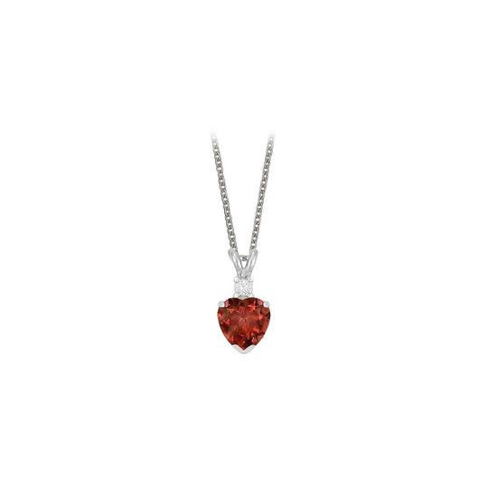 Preload https://img-static.tradesy.com/item/23707227/red-heart-shaped-garnet-and-cubic-zirconia-pendant-necklace-0-0-540-540.jpg