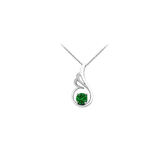 Preload https://img-static.tradesy.com/item/23707276/green-may-birthstone-emerald-pendant-in-925-sterling-silver-with-free-chain-necklace-0-0-540-540.jpg