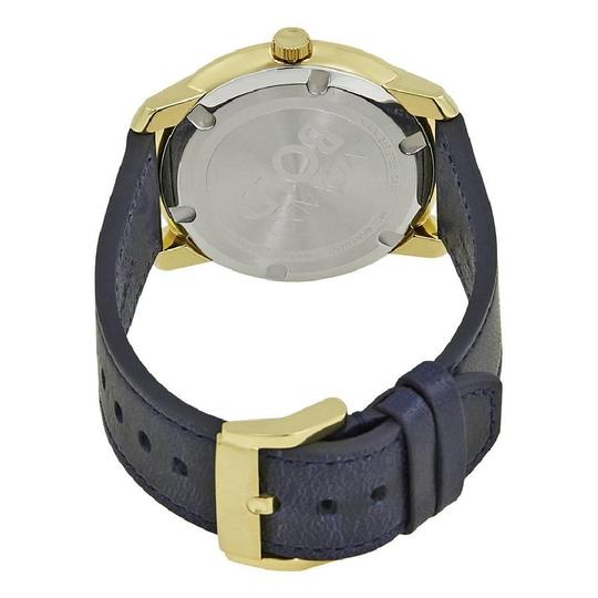 Movado Sunray Dial Men's Leather Watch Image 2