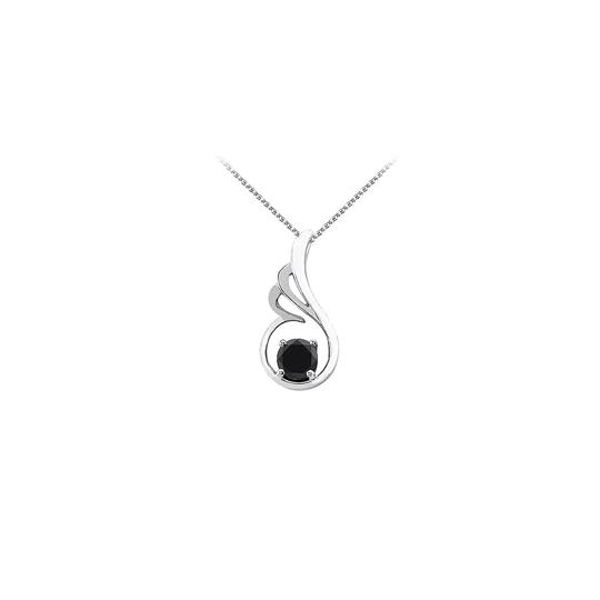 Preload https://img-static.tradesy.com/item/23707299/black-onyx-designer-pendant-in-925-sterling-silver-with-free-chain-unique-necklace-0-0-540-540.jpg