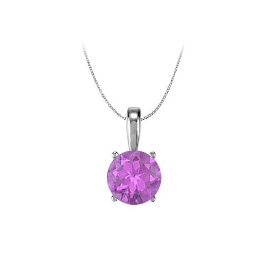 Preload https://img-static.tradesy.com/item/23707315/purple-february-birthstone-amethyst-pendant-in-925-sterling-silver-100-ct-tg-necklace-0-0-540-540.jpg