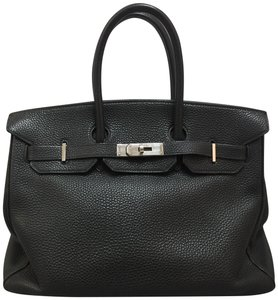 Hermès Birkin 35 Tote in black
