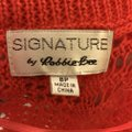 Signature by Robbie Bee Piece.coral/Multi New Shrug Belted Zip Back Dress Image 4