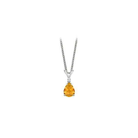 Preload https://img-static.tradesy.com/item/23707894/yellow-pear-cut-citrine-and-cubic-zirconia-pendant-necklace-0-0-540-540.jpg