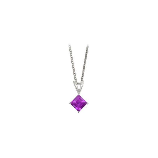 Preload https://img-static.tradesy.com/item/23708113/purple-square-cut-amethyst-pendant-sterling-silver-1cttw-necklace-0-0-540-540.jpg
