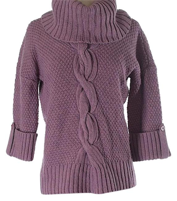 Preload https://img-static.tradesy.com/item/23708307/talbots-lilac-sweater-0-1-650-650.jpg
