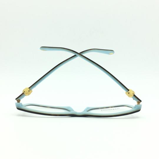 Tiffany & Co. Square Rectangle Tortoise and Gold Rx TF 2104 Eyeglasses Frame Image 5